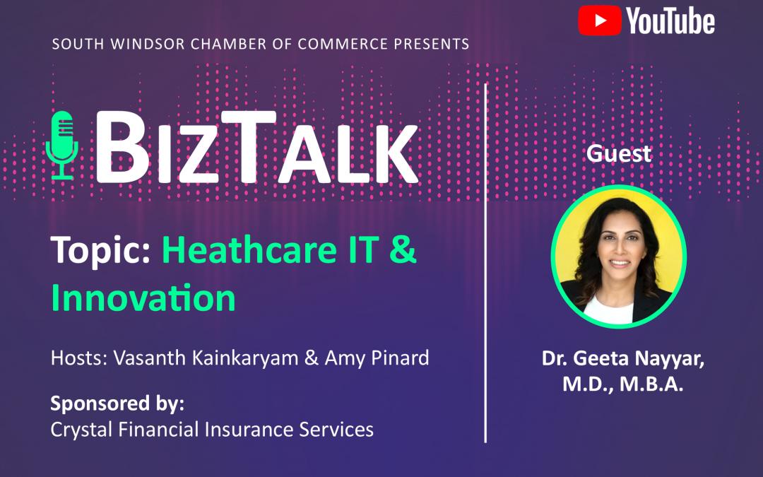 Episode 3: BizTalk w/ Dr. Geeta Nayyar